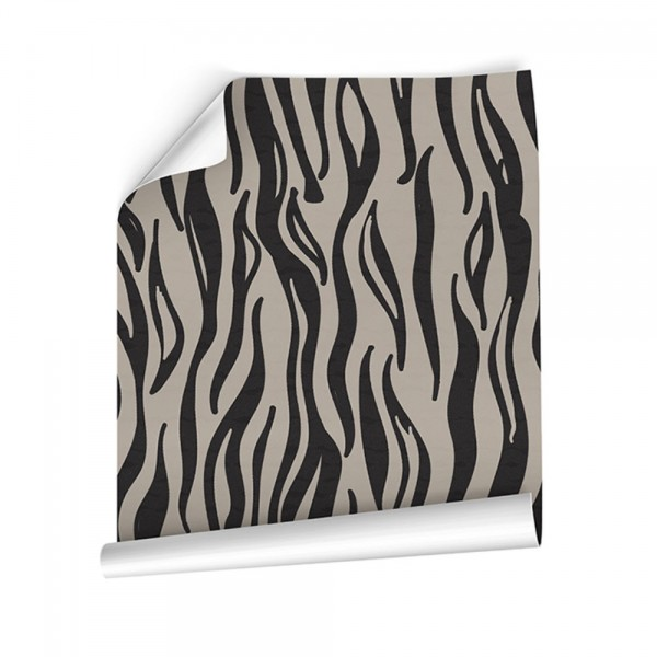 Papel pintado para pared Autoadhesivo  Animal Skin Zebra
