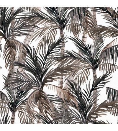 Detalle del Papel pintado autoadhesivo con estampado blue jeans Animal Skin Palm