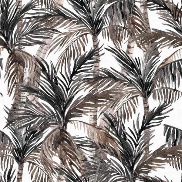 Detalle del Papel pintado autoadhesivo con estampado Animal Skin Palm.