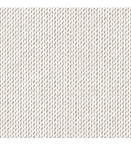 Detalle del Papel pintado autoadhesivo con estampado Tweed Crema