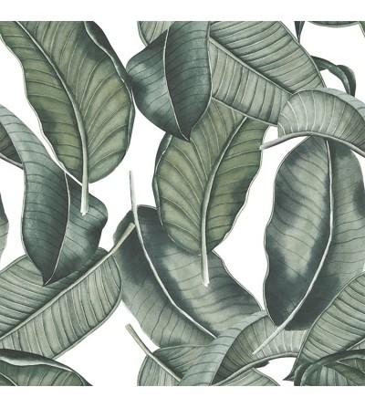 Detalle del Papel pintado autoadhesivo con estampado Sumatra