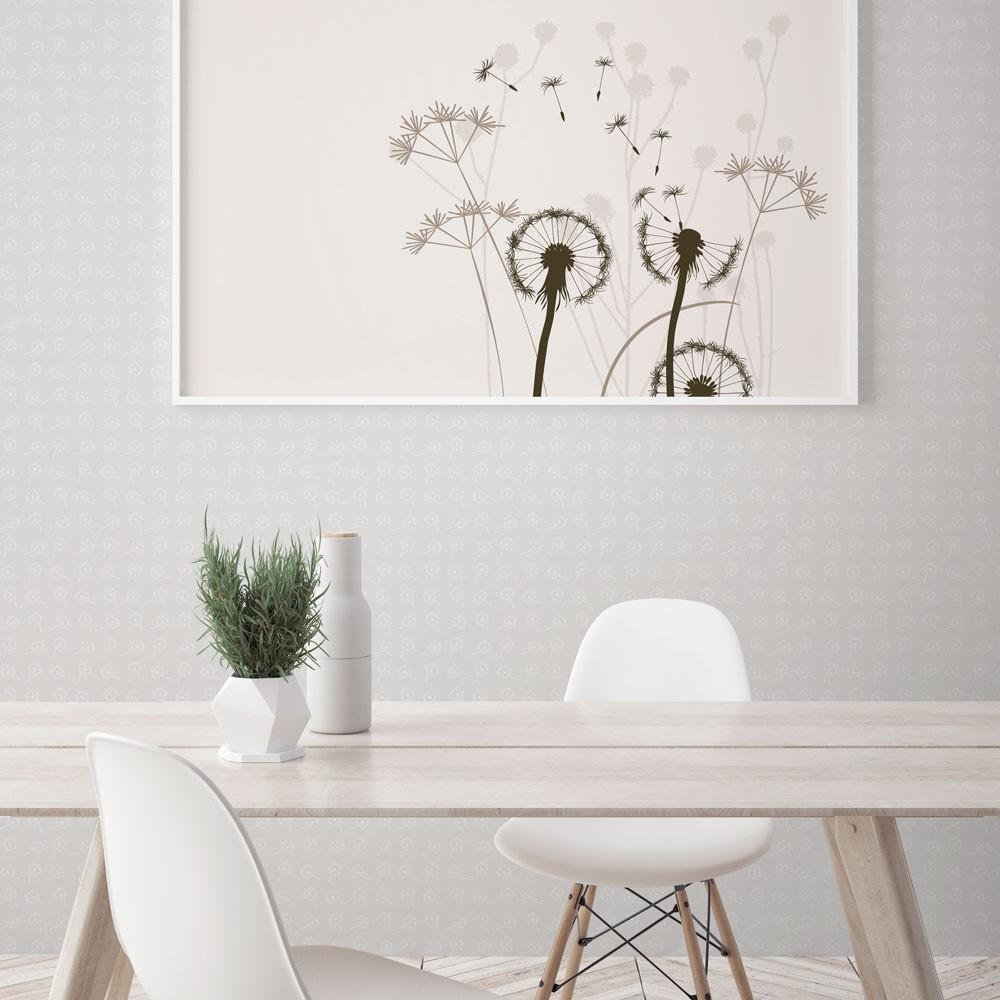 Ambiente del Papel pintado autoadhesivo con estampado Dandelion