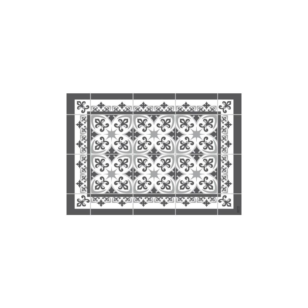 Mantel individual con estampado lis silver.