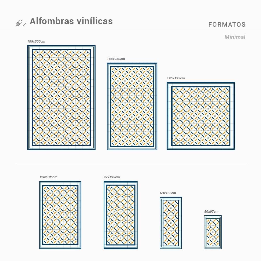 Alfombra Vinílica Minimal