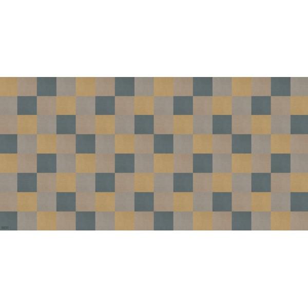 Alfombra vinílica para suelo Escacs