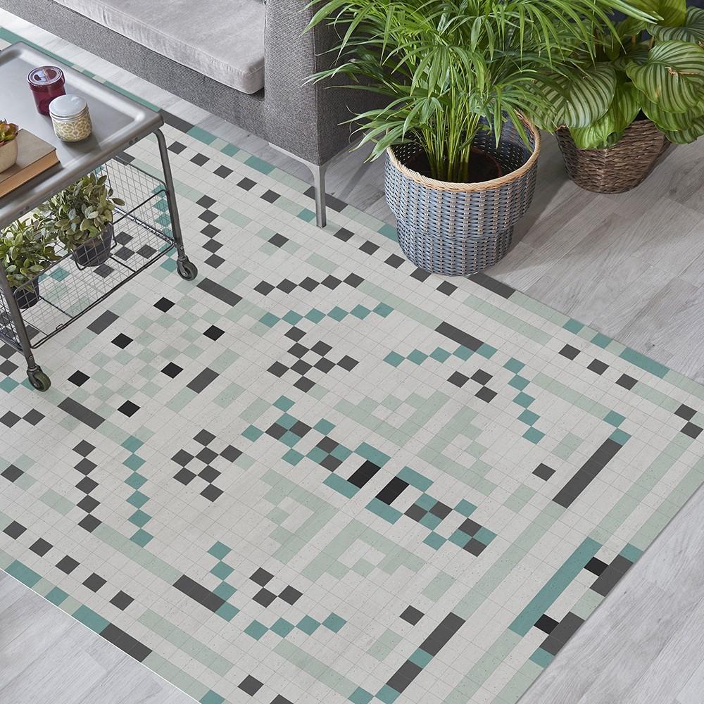 Ambiente alfombra vinílica Pompeya