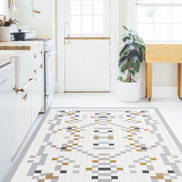 Ambiente alfombra vinílica estampado Vaivre