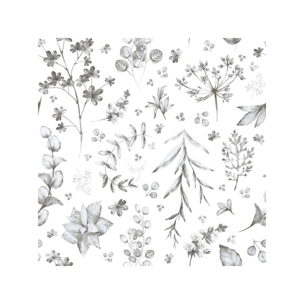 Papel Autoadhesivo Grey Garden