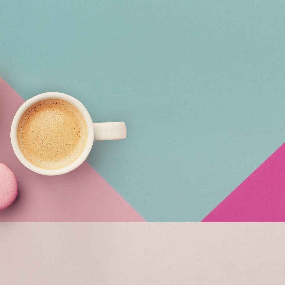 Camino de mesa con estampado  Geometric pastel