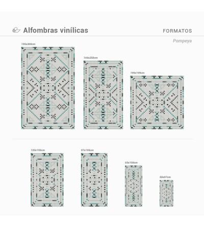 Alfombra Vinílica Pompeya