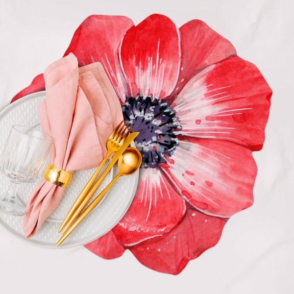 Packs de 2 manteles Begonia (min. 3 packs)