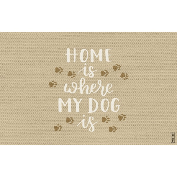 Alfombra Home is where Dog