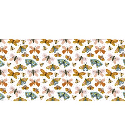 Alfombra vinílica con estampado Butterfly