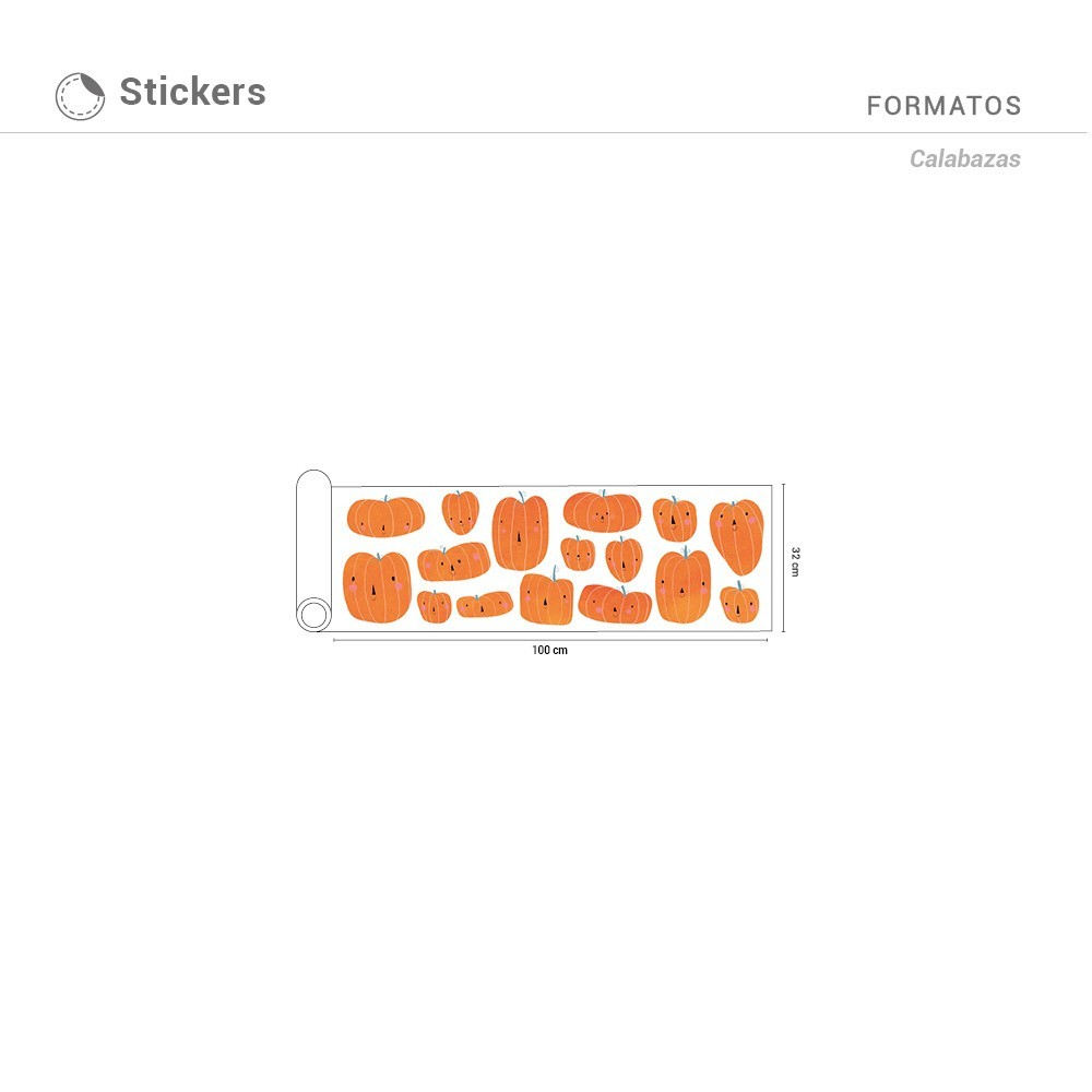 Sticker Calabaza