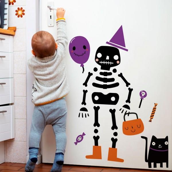 Sticker Cute Skeleton