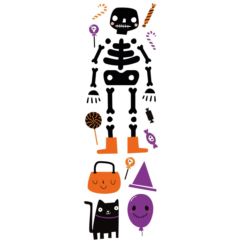 Sticker Cute Skeleton