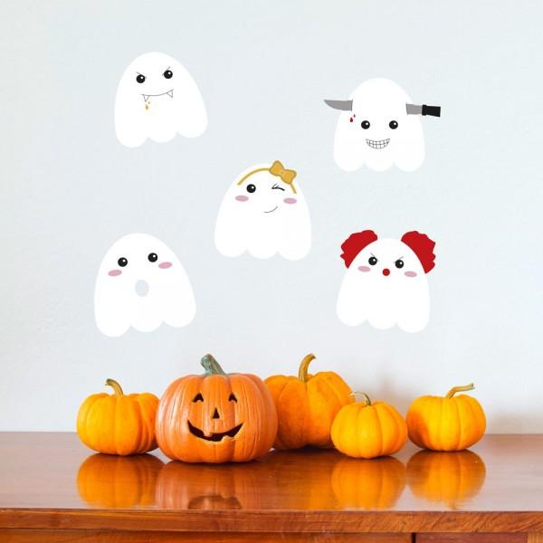 Sticker Funny Ghost