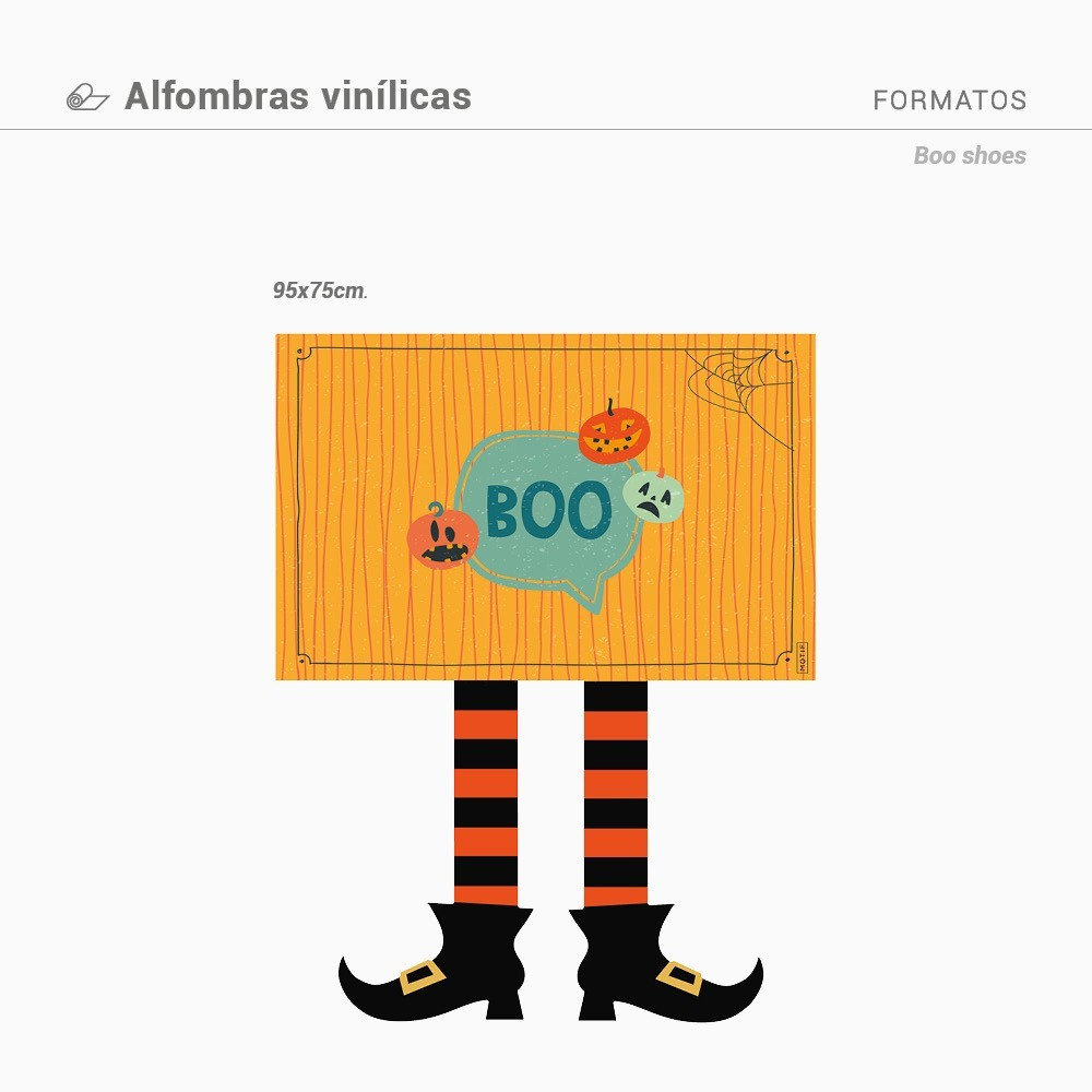 Alfombra  Boo Shoes