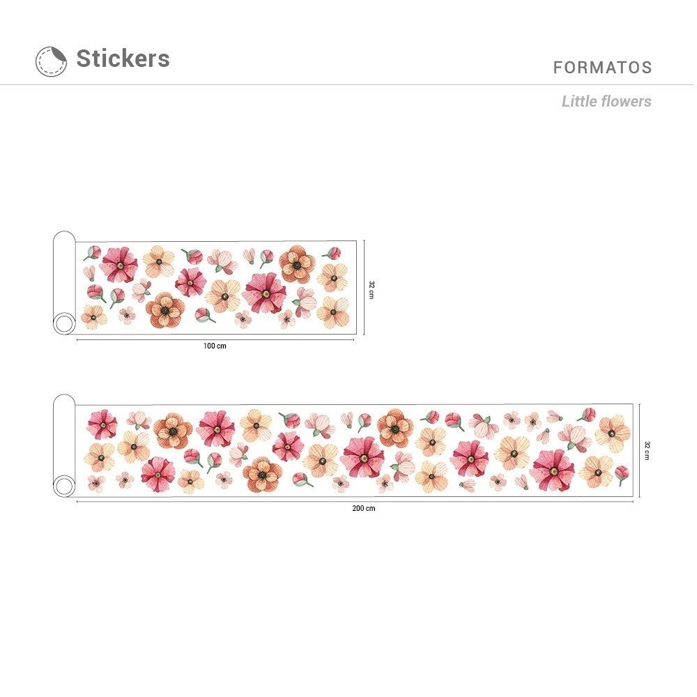 Sticker Little Flowers