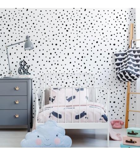 Ambiente del Papel pintado autoadhesivo con estampado Crazy Dots