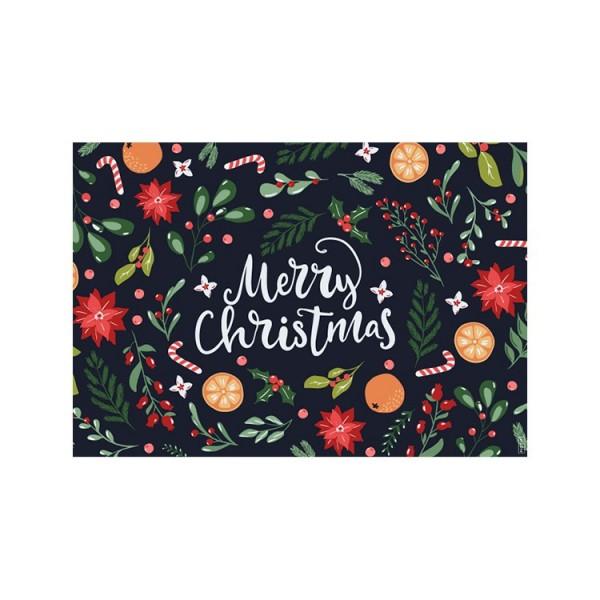 Packs de 2 manteles Mediterrania Christmas (min. 3 packs)