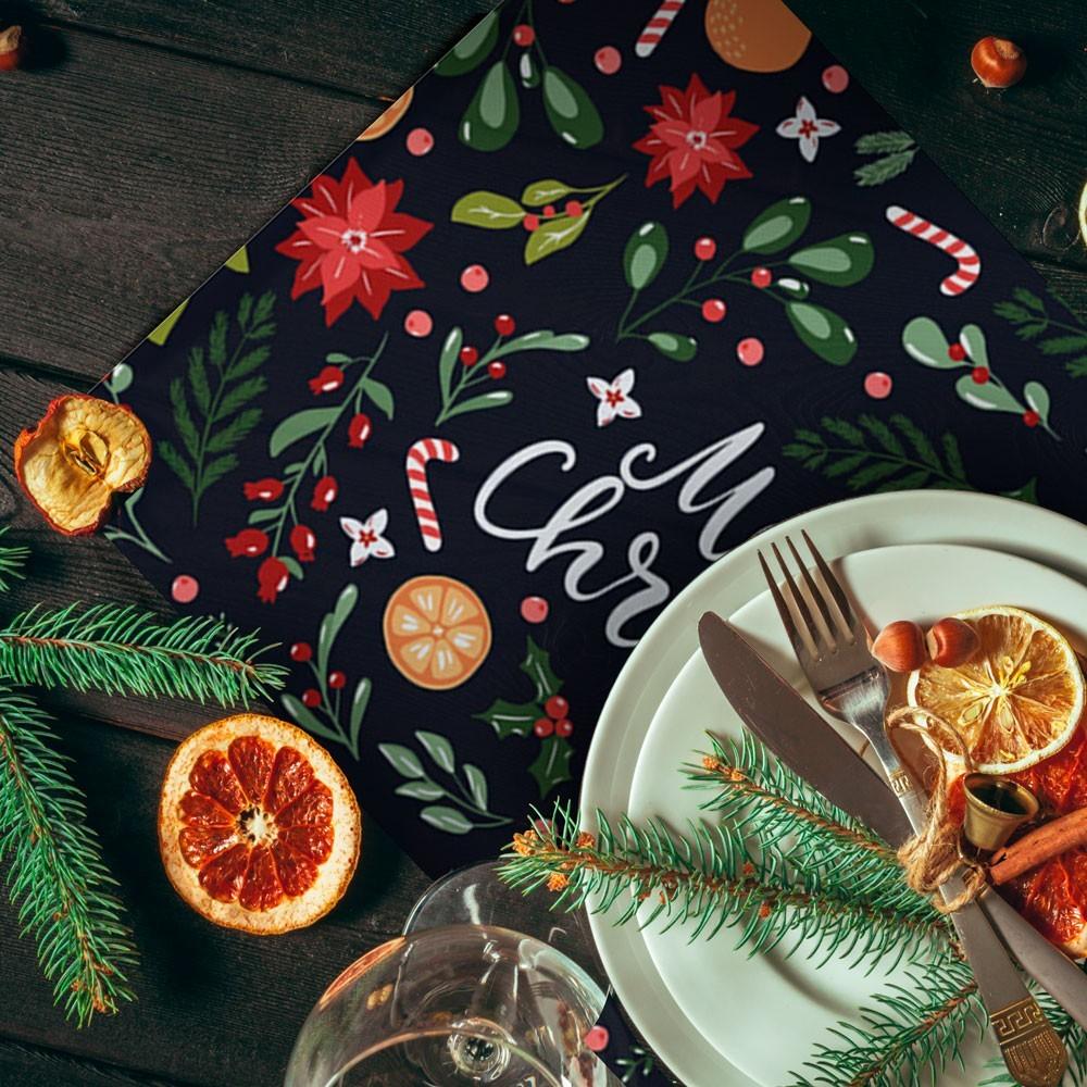 Pack de 2 manteles Mediterrania Christmas