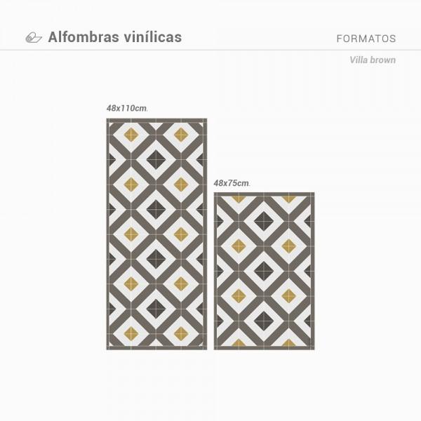 Alfombra vinilica Villa