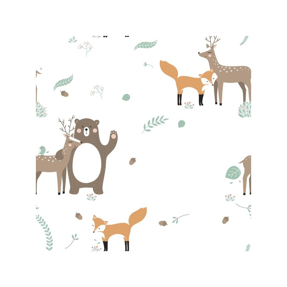 Papel autoadhesivo FOREST FRIENDS PROMO EXPRESS