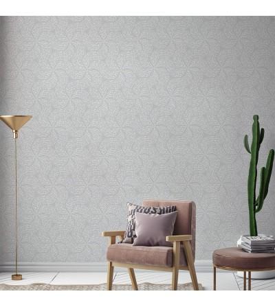 Ambiente del Papel pintado autoadhesivo con estampado Grey Waves
