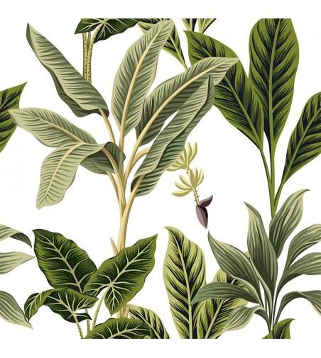 Detalle del Papel pintado autoadhesivo con estampado Jungle