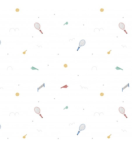 Vinilo para Mueble Tenis