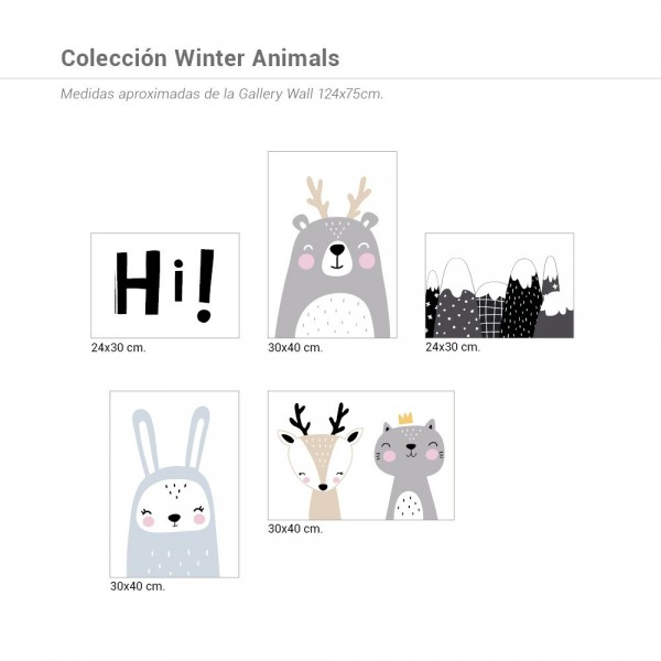 Colección Winter Animals