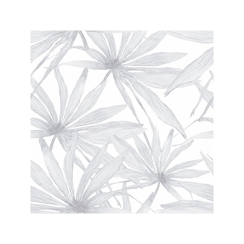 Detalle del Papel pintado autoadhesivo con estampado Soft Tropic
