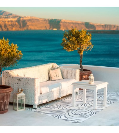 Alfombra Vinílica Sweet Paradise Azul