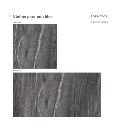 Vinilo Obscure Marble