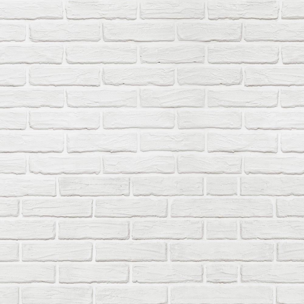 Vinilo para Mueble Ladrillos Blancos