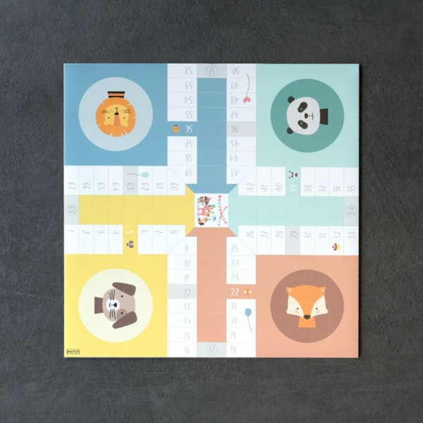 Juego Parchis Animal Party