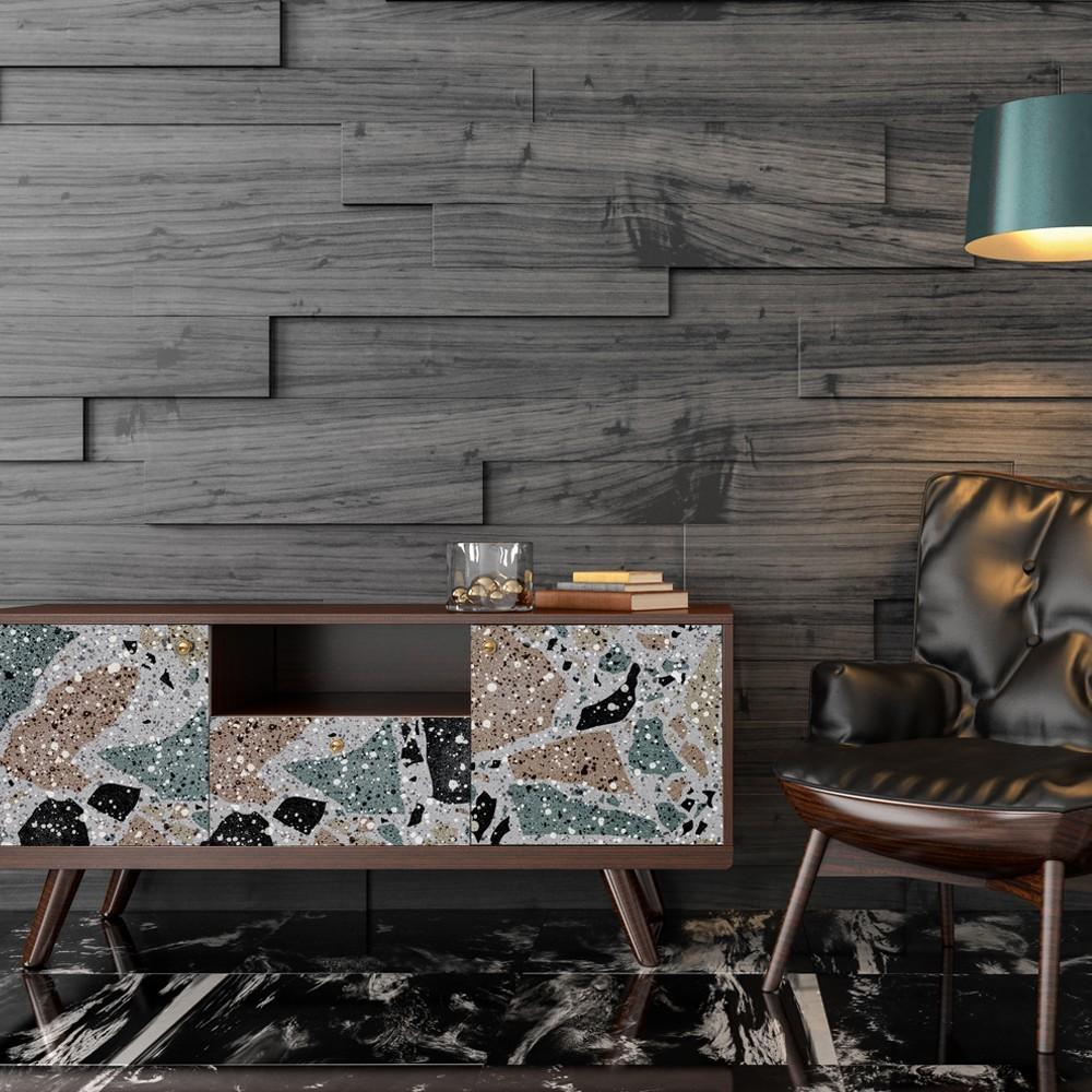 Vinilo para muebles con estampado Terrazo Big Color