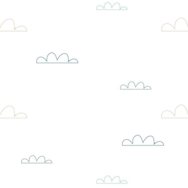 Papel Autoadhesivo Nubes