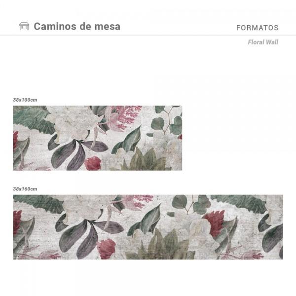 Camino de mesa Floral Wall