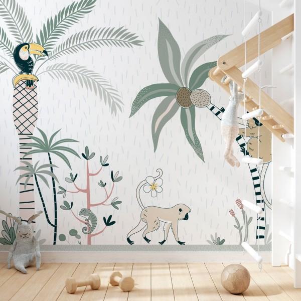 Mural Tropic Kids