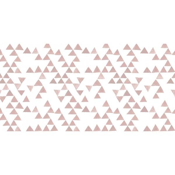 Vinilo para mueble Pirámides Rosa 200x100cm