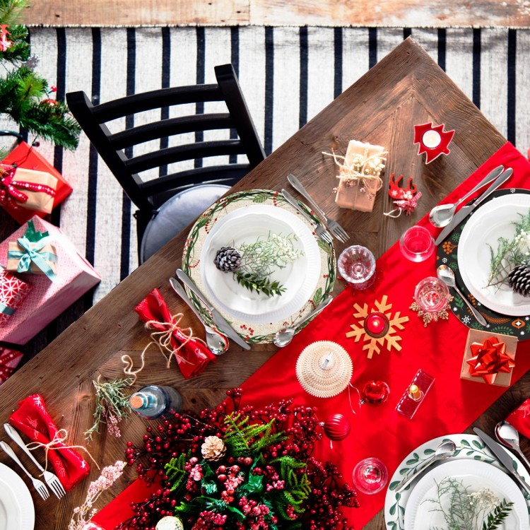 Los mejores tips para decorar tu mesa navideña