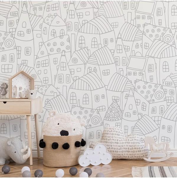 Murales tipo cuento; tendencia para dormitorios infantiles